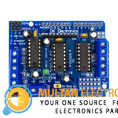 L293D Motor Driver Control Shield for Arduino
