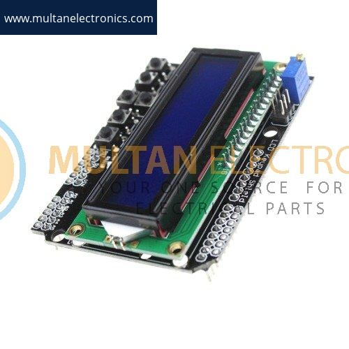LCD1602 Display Shield With Keypad for Arduino