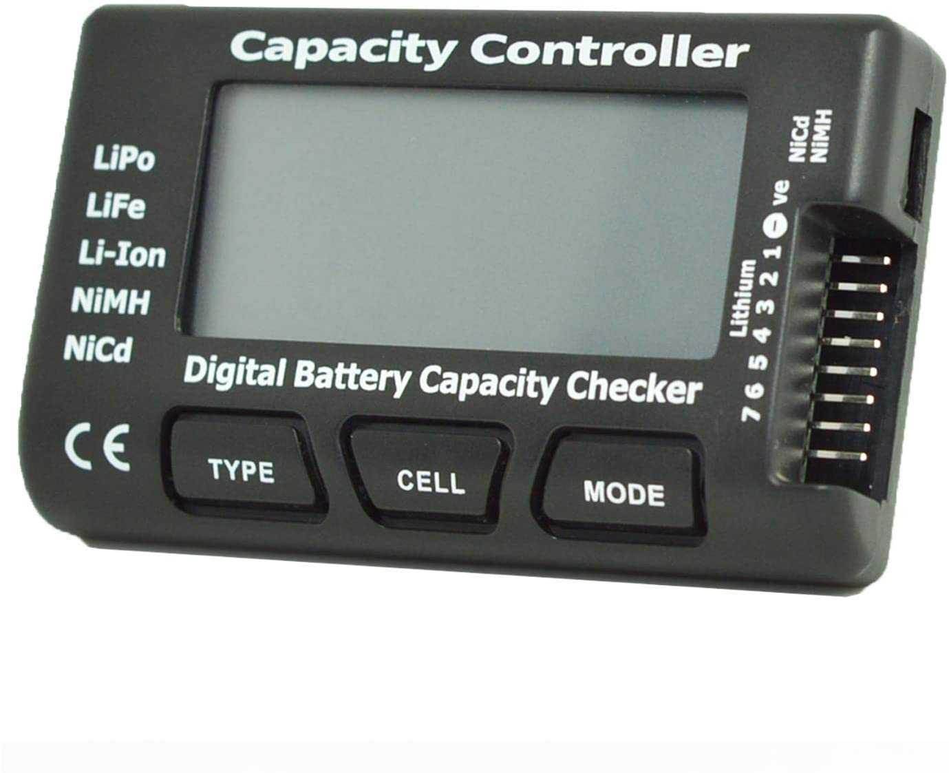 Battery Meter Checker Tester