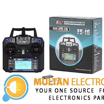 RCmall Flysky FS-i6 2.4G 6CH RC Transmitter and Receiver FS-iA6