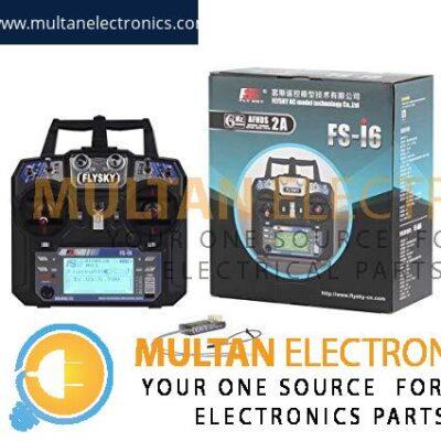 RCmall Flysky FS-i6 2.4G 6CH RC Transmitter and Receiver FS-iA6