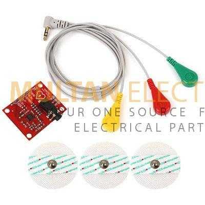 AD8232 ECG Heart Rate Sensor