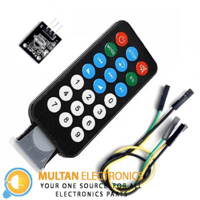 Infrared Remote Control Module + Receiving Head HX1838