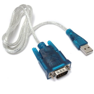 USB To RS232 Serial 9 Pin Converter Cable Adapter