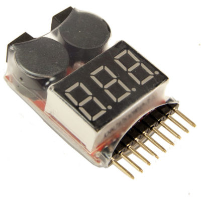 LiPo Battery Voltage Tester