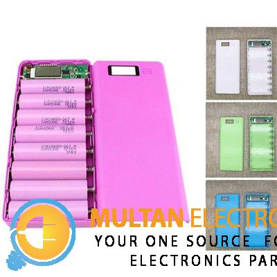 eBay Details about DIY 8x18650 Portable Battery Power Bank Shell Case Box LCD