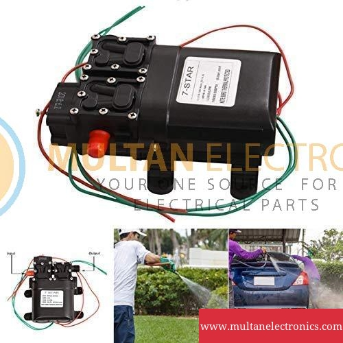 12V 120W 220PSI Micro Diaphragm Water Double Pump FLO Pump Automatic Switch
