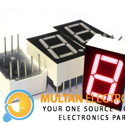 1 Digit Seven 7 Segment Display (Cathode & Anode)