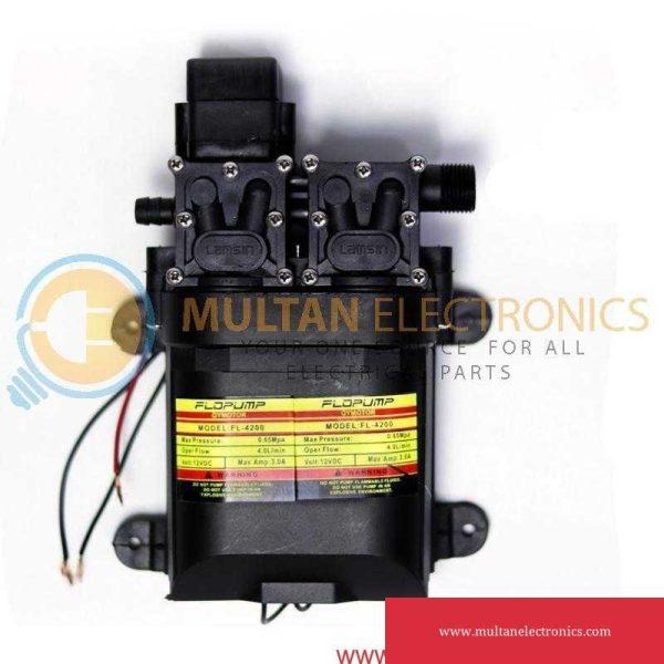 12V 120W 220PSI Micro Diaphragm Water Double Pump FLO Pump