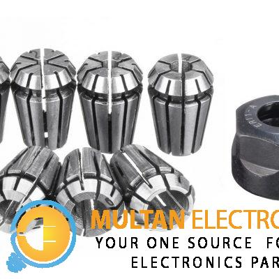 1mm to7 mm Chuck collet with clamping hex nut