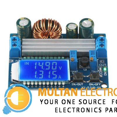 Buck Boost Converter Module 4A Adjustable With LCD Display