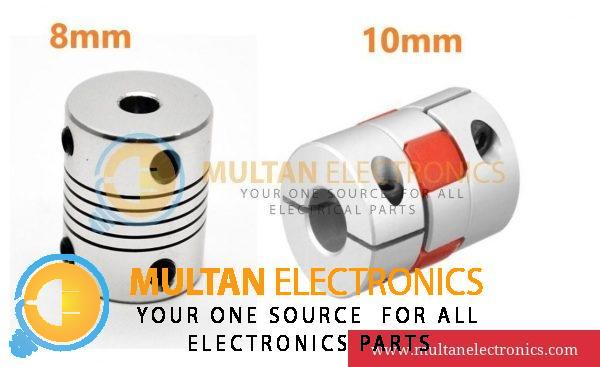 8mm & 10mm 3D Printer Stepper Motor Flexible Coupler