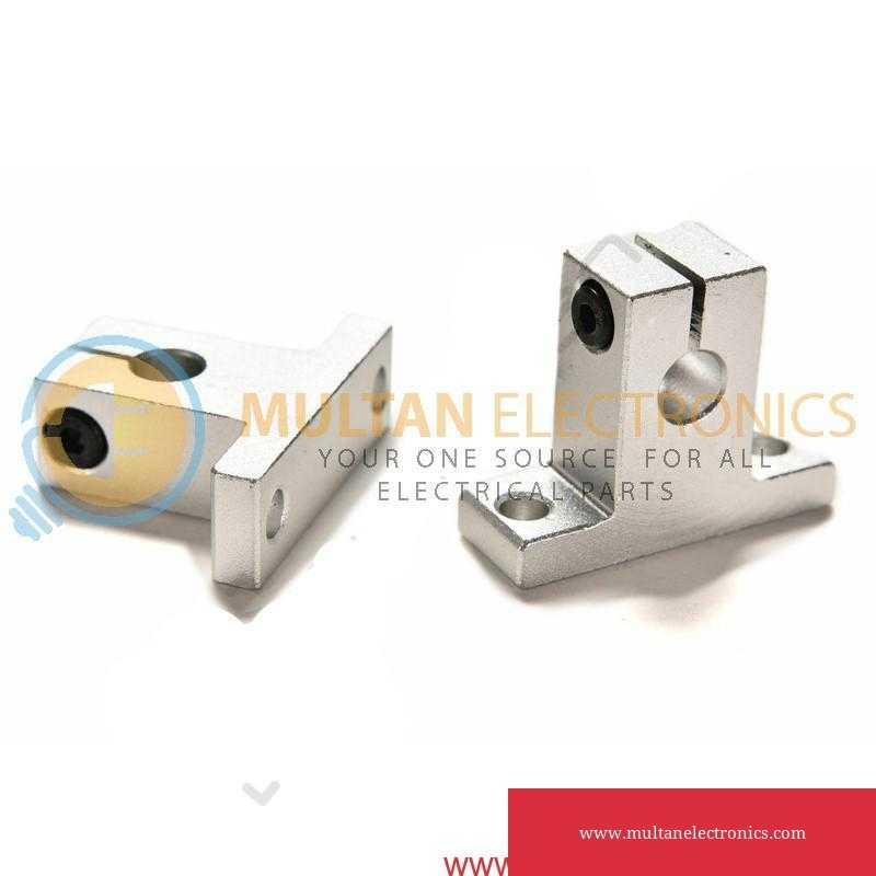 8mm & 10mm Linear Rail Shaft Guide Support Bracket for CNC & 3D Printer