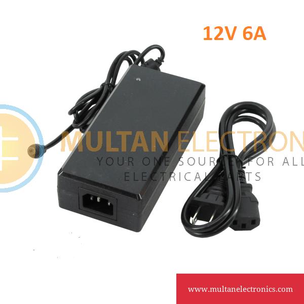 12V 6A Power Adapter