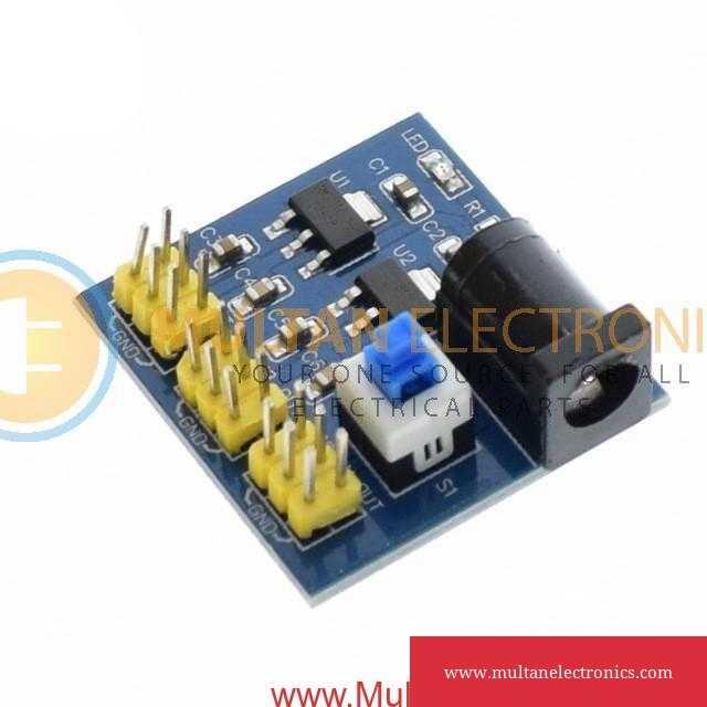 DC-DC 12V to 3.3V 5V 12V Multi Output Voltage Conversion Power Module