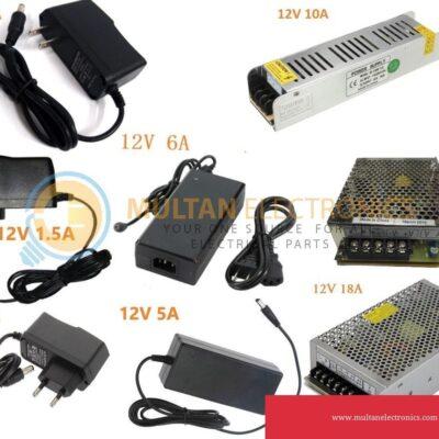 Power Adapter 12v 1A, 2A, 3A, 5A, 6A, 10A, 18A Power Supplies AC/DC