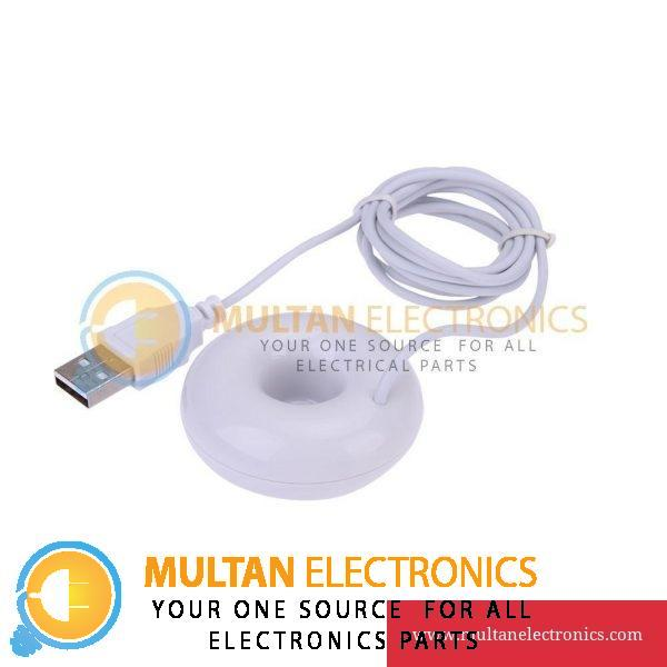 Donut Humidifier Air Purifier Floats Aroma Steam Diffuser