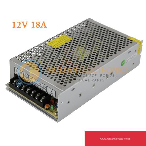12V 18A Power Supply