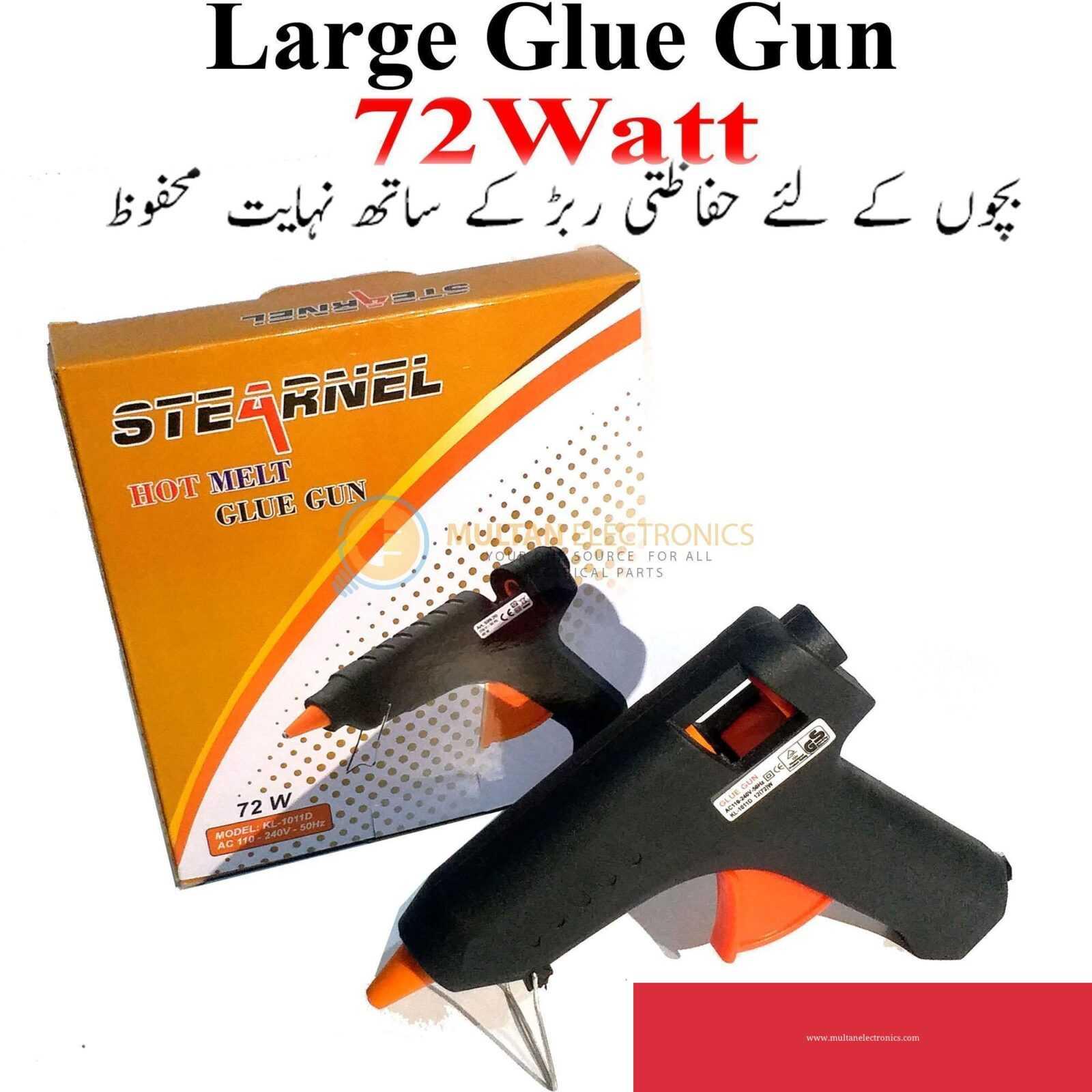 Imported Automatic Large Size 220volt Thermostat Electric Glue Gun Hot Melt Glue Gun Hot Melt Silicone Glue Gun Rod Sticks