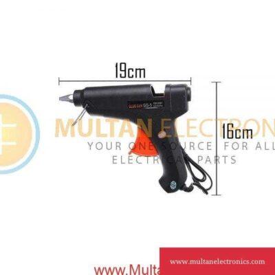 100W Black Glue Gun GG-5 with 2 Glue Stick