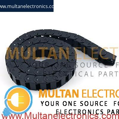 14 x 34mm Chain Cable Cover Drag Wire Carrier for CNC Machines