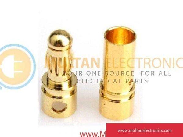Bullet Connector Set - 3.5mm Male-Female for Brushless Motor & ESC