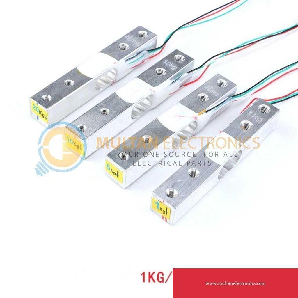 Load Cell 1KG / 5KG / 10KG / 20KG Electronic Aluminum Scale Weight Sensor