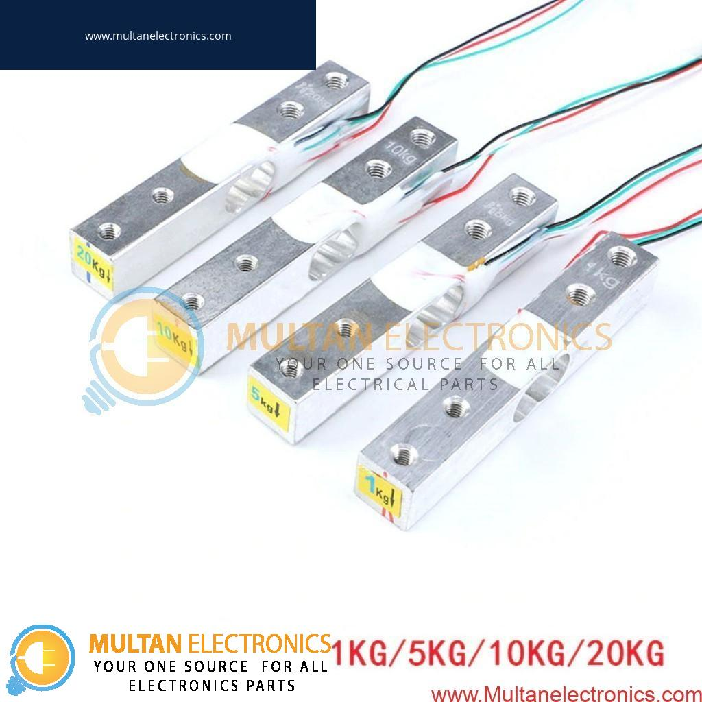 Load Cell 1KG / 5KG / 10KG / 20KG Electronic Aluminum Scale Weight Sensor