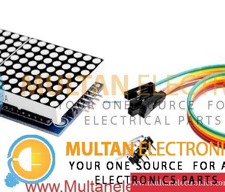 Max7219 Dot Matrix Module Microcontroller 4 In One Screen With 5 p Line