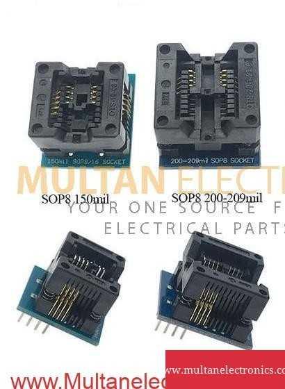 SOIC8 SOP8 Socket 150ml to DIP8 and 200-209ml