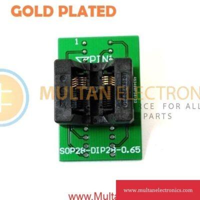 Programming Socket SOP28 0.65mm
