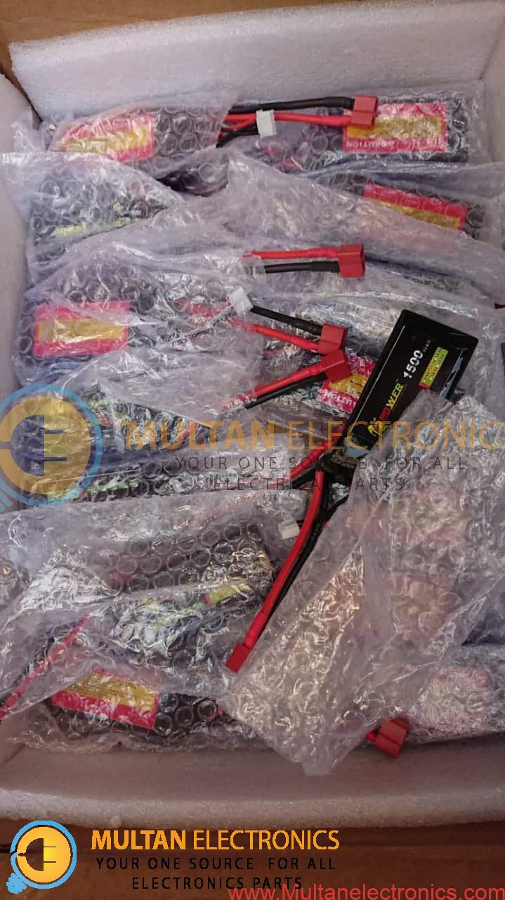 11.1V 3S 1500mAh 35C LiPO Battery T plug Burst 80C RC Model