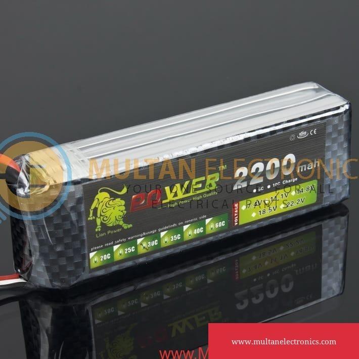 2200mAh 35C LiPO battery
