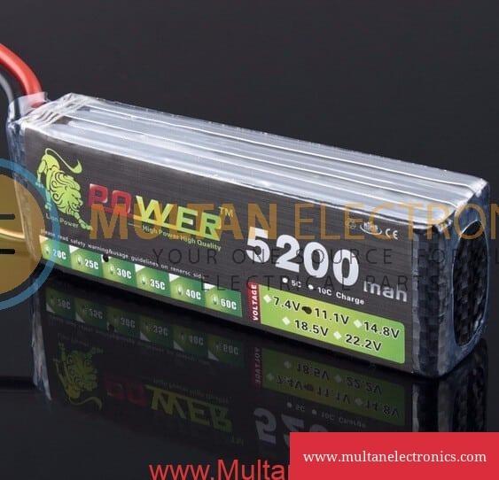 1.1V 5200mAh 3S 30C Lipo Li-Po Lipoly Battery for RC