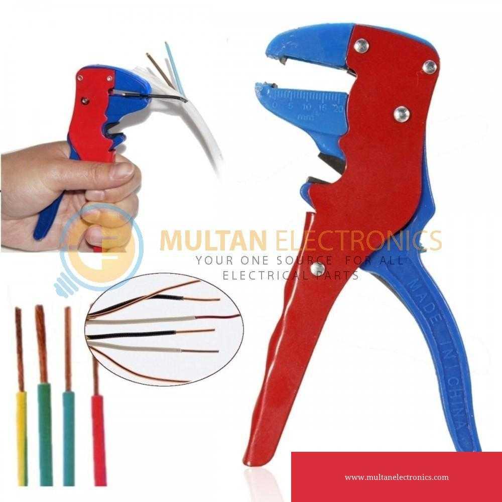 Wire Stripper Cutter Automatic Self Crimper Stripping