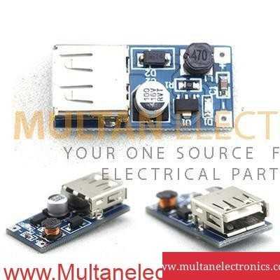 Produino USB 1200mAh DC 2.5V to DC 5V Buck Boost Converter Module mini