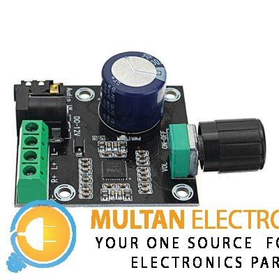 PAM8610 Dual Channel DC 12V HD Pure Digital Audio Stereo Amplifier Board Class D 15W x 2 High Power Amplifier Module