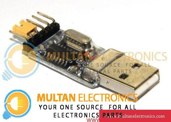 USB to RS232 TTL Serial Converter Adapter Module CH340G 6Pin