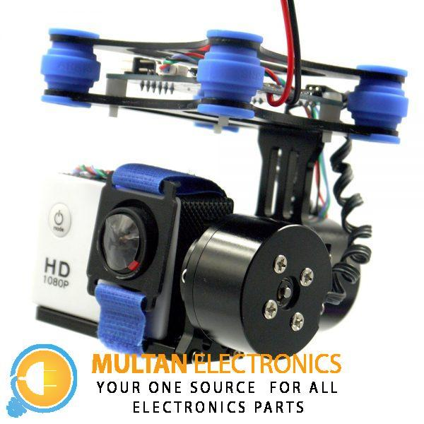 2 Axis Brushless Gimbal Camera