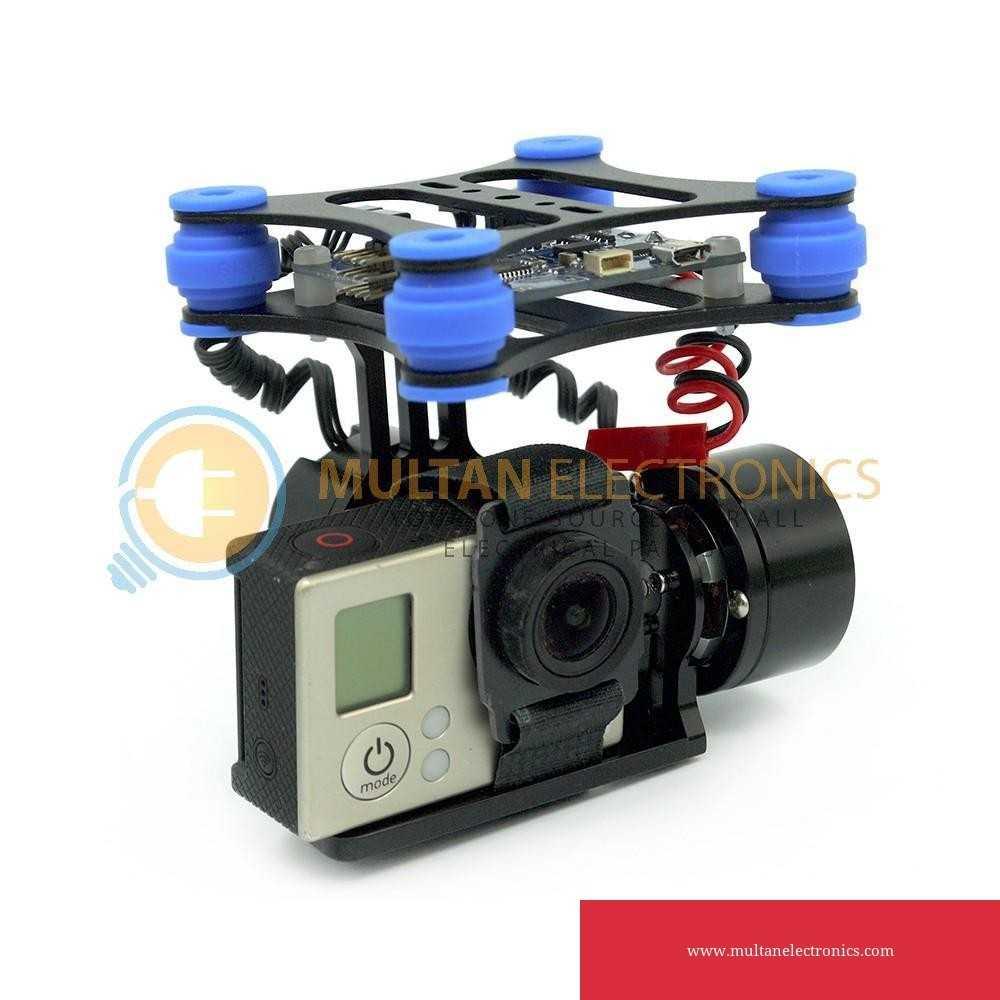 2 Axis Brushless Gimbal Camera