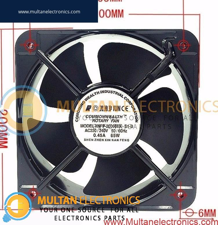 8inch AC 220V Fan
