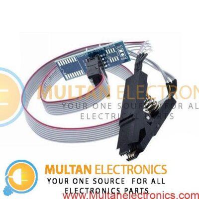 EEPROM BIOS USB Programmer CH341A SOIC8 Clip 1.8V Adapter