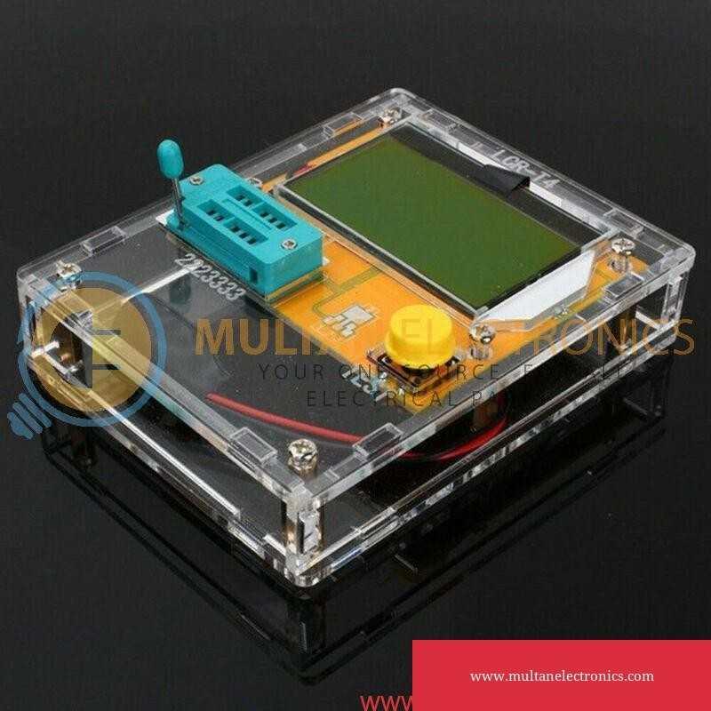 LCR-T4 Mega328 Transistor Tester Diode Triode Capacitance ESR Meter With CasingLCR-T4 Mega328 Transistor Tester Diode Triode Capacitance ESR Meter With Casing