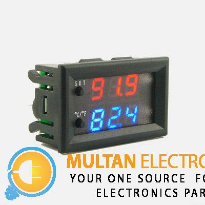Mini W2809 W1209WK Microcomputer Thermostat Regulator DC 12V 20A Temperature Controller