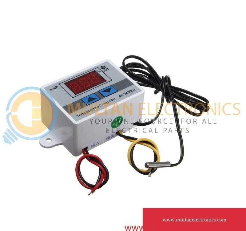 XH W3001 Digital LED Temperature Controller AC220V 10A
