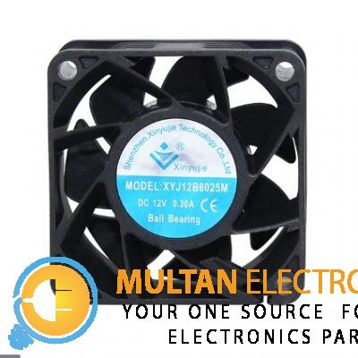 2.5 inch 12V DC Fan