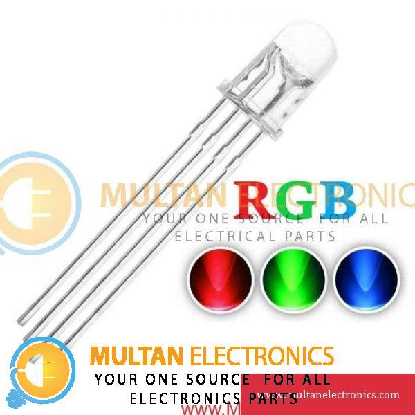 5mm RGB LED Light Emitting Diodes