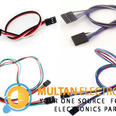 Servo Extension Cable 3, 4, 5 Pin in Different Size Optional