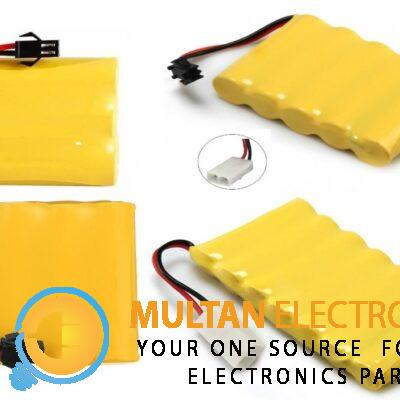 3.7V/4.8/6V/8.4V AA NI-MH Rechargeable Battery Optional