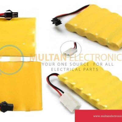3.7V/4.8/6V/8.4V AA NI-MH Rechargeable Battery Optional